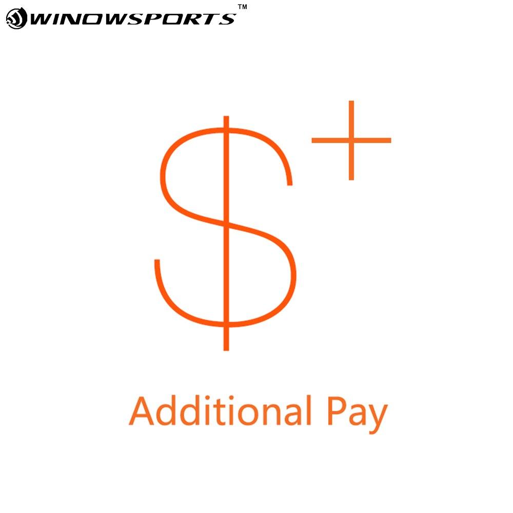 Winowsports دفع إضافي على الطلب الخاص بك مع إطار دراجة هوائية/عجلات
