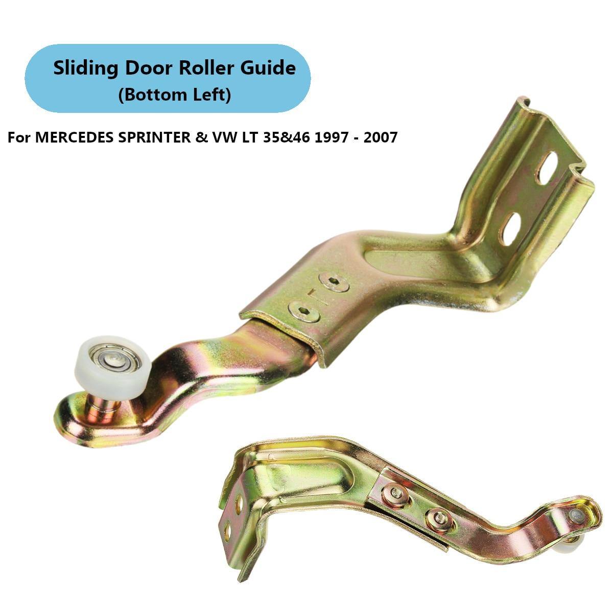 Guía de rodillos para puerta deslizante inferior izquierda 9017600028 901 760 00 28 para MERCEDES SPRINTER para VW LT 35 y 46