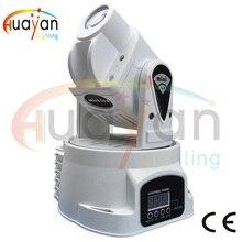 Free Shpping LED RGB 15W DJ Mini LED Spot/Gobos Moving Head Stage Light DMX 5/13 Channels Fast Shipping