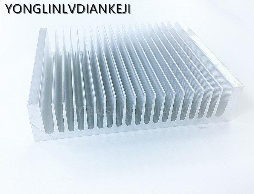 Фото - 1 шт. алюминиевый радиатор 195*45-100 мм/большой радиатор/светодиодный радиатор/радиатор электрооборудования радиатор