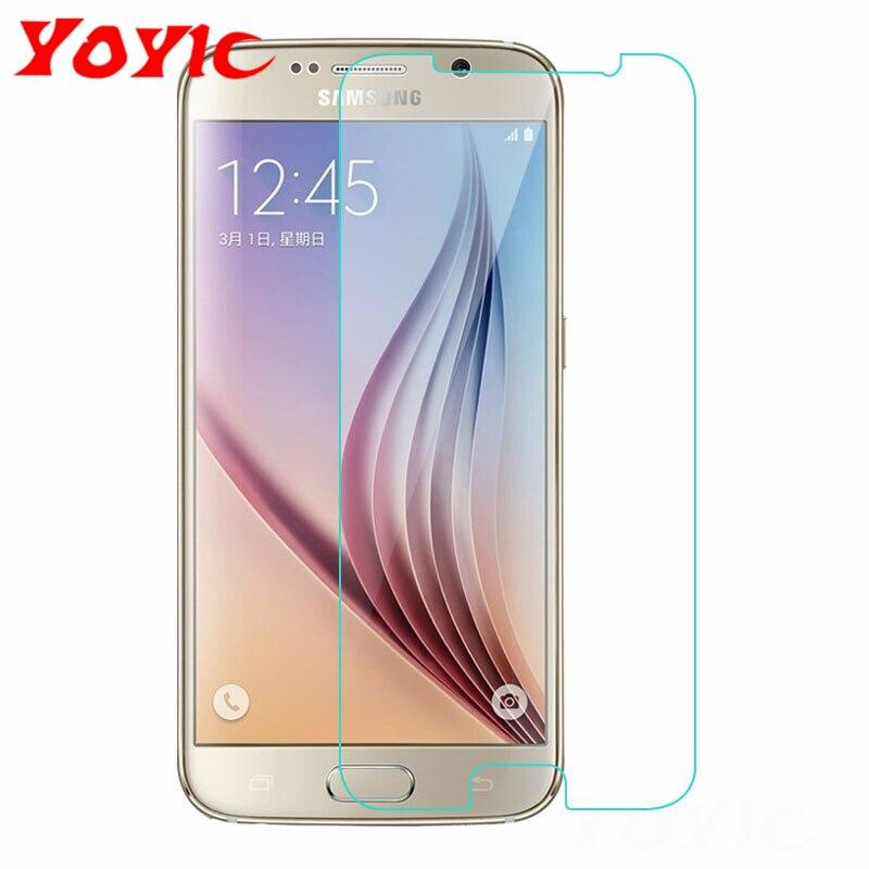 Vidrio Protector YOYIC para Samsung Galaxy S7 S6 S5 S4 S3 película de vidrio templado para Samsung Note 3 4 5 Protector de pantalla de vidrio