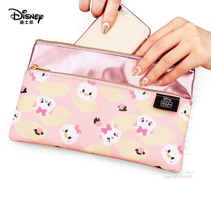 Genuine Disney tsumtsum Series Cartoon Double Multi-function Women Bag Wallet Purse Baby Care BagS Fashion Mummy Bag Girls Gifts