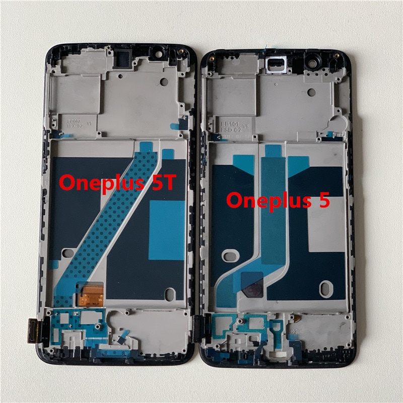 Original Supor Amoled M&Sen For Oneplus 5T A5010  LCD Screen Display+Touch Digitizer With Frame 5 A5000 Display