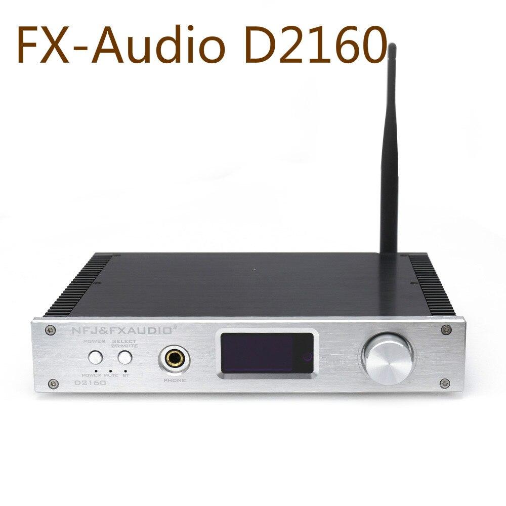 Fx-audio D2160 HIFI Bluetooth 4,2 150W2 completamente digital amplificador de potencia auriculares Hifi Music AMP