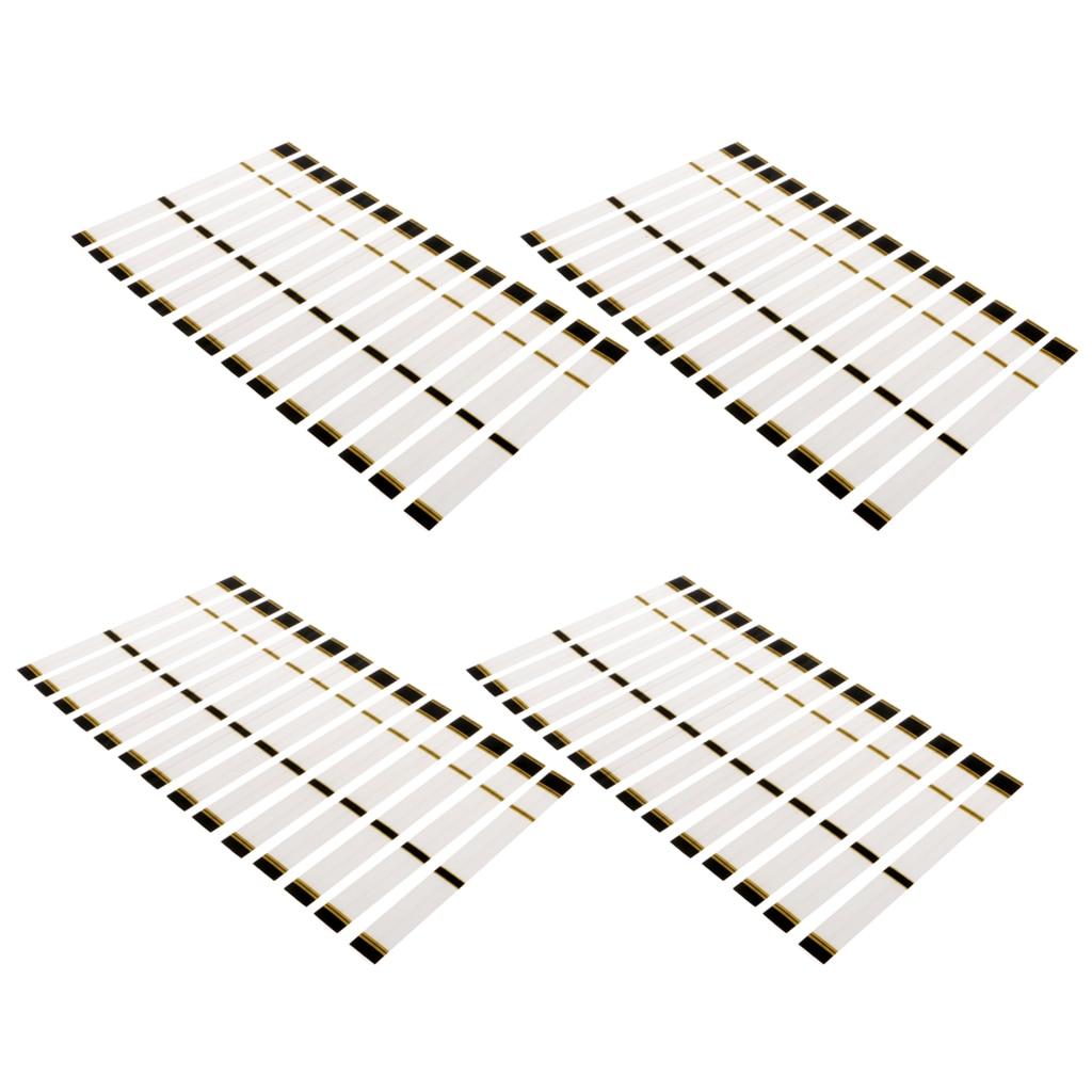 60 pçs universal branco 19.5x2cm arco e flecha eixo adesivos envoltórios-calor shrinkable arco e flecha acessórios