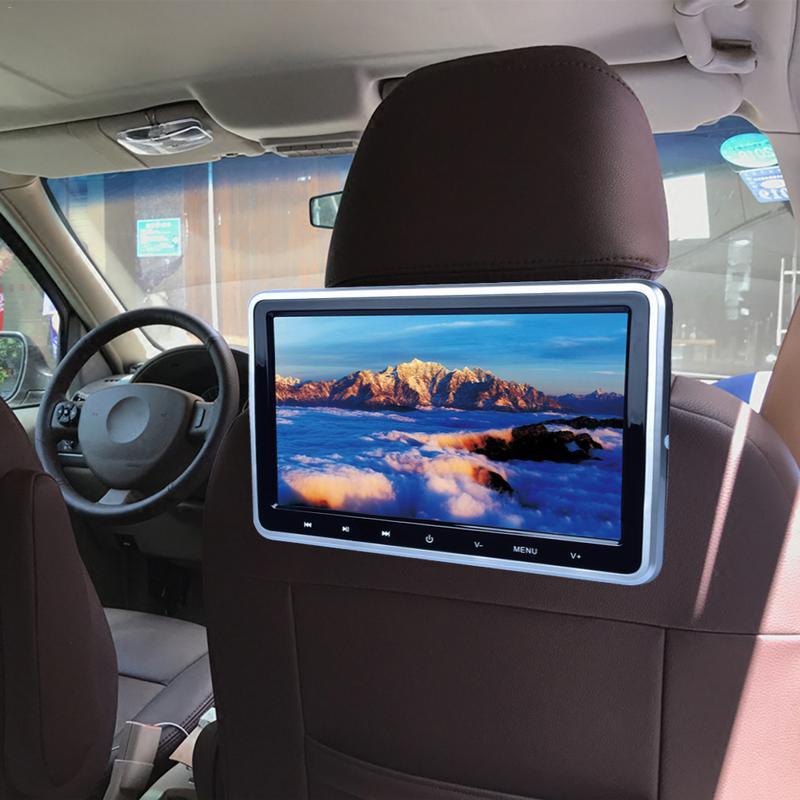 Hinten Auto LCD Monitor 10,1-zoll 1024x600 Auto DVD Kopfstütze Multimedia Monitor TFT LCD Bildschirm Auto MP5 media-Player Auto TV Bildschirm
