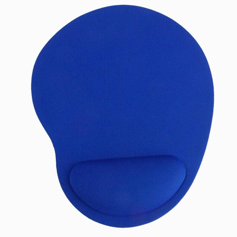 Alfombrilla de ratón con reposamuñecas, alfombrilla de ratón con reposamuñecas, color azul,...