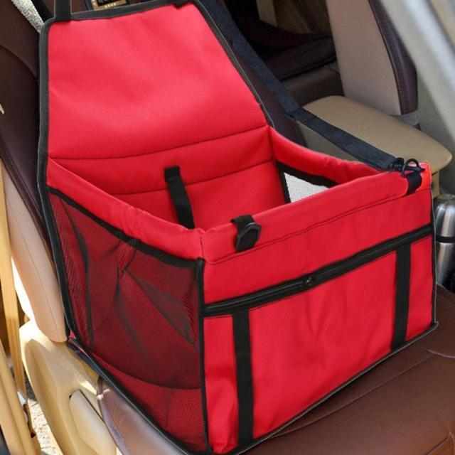 Folding Pet Dog Carrier Pad Waterproof Dog Seat Bag Basket Safe Carry House Cat Puppy Bag Dog Car Seat Pet Products