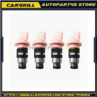4pcs Fuel injector Nozzle N150NX 16600-73C00 1660073C00 A46-H12 for Nissan Almera