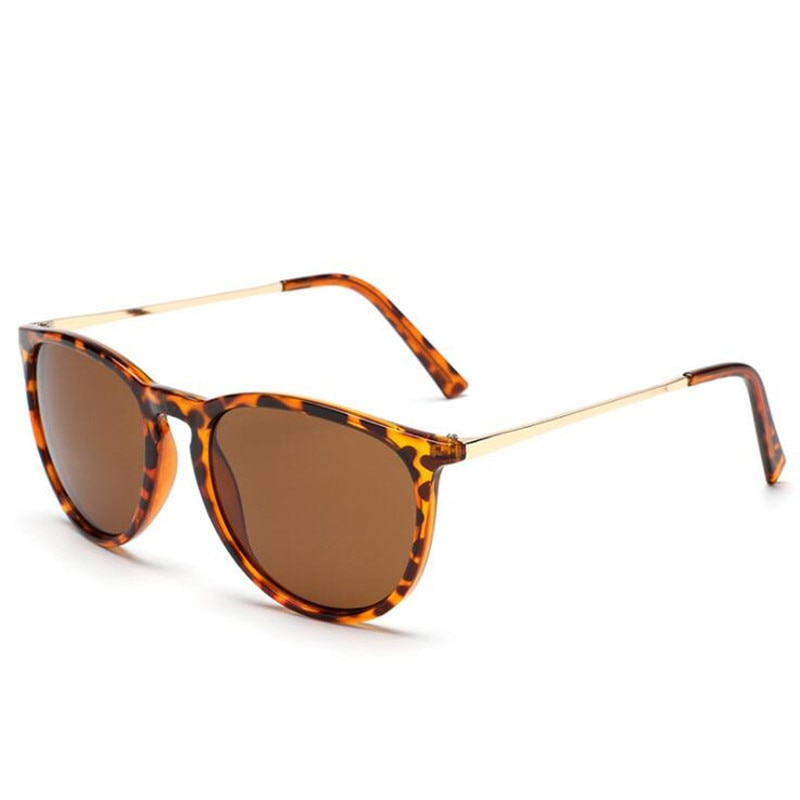 Vintage Retro Round Sunglasses Women Men Brand Designer Ladies Sun Glasses for Women Mirror Sun Glas