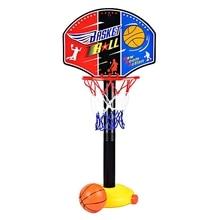 Enfants support de basket-Ball jouets réglables en plein air Sports dintérieur basket-Ball cerceau jouet ensemble se dresse balle Backboard avec pompe de gonflage