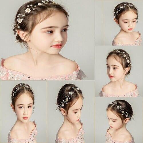 Nuevo accesorio para el pelo para niñas. Joyería elegante para boda