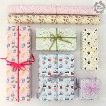 Emballage de cadeau en Papier artisanal joli Style chat   10 pièces, pour Festival, sac en Papier, bricolage manuel, livre Papier, 50x70CM