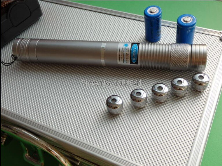 AAA High Power Military 5000000m 500W Blue Laser Pointers 450nm Flashlight Burning Match/Burn light cigars/candle/black Hunting