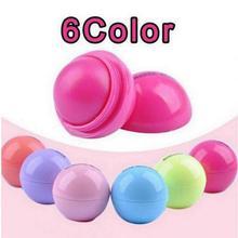 2019 Real New 6 Colors Ball Lip Balm Lipstick Natural Fruit Flavor Moisturizer /long-lasting Fashion Women Beauty Gloss