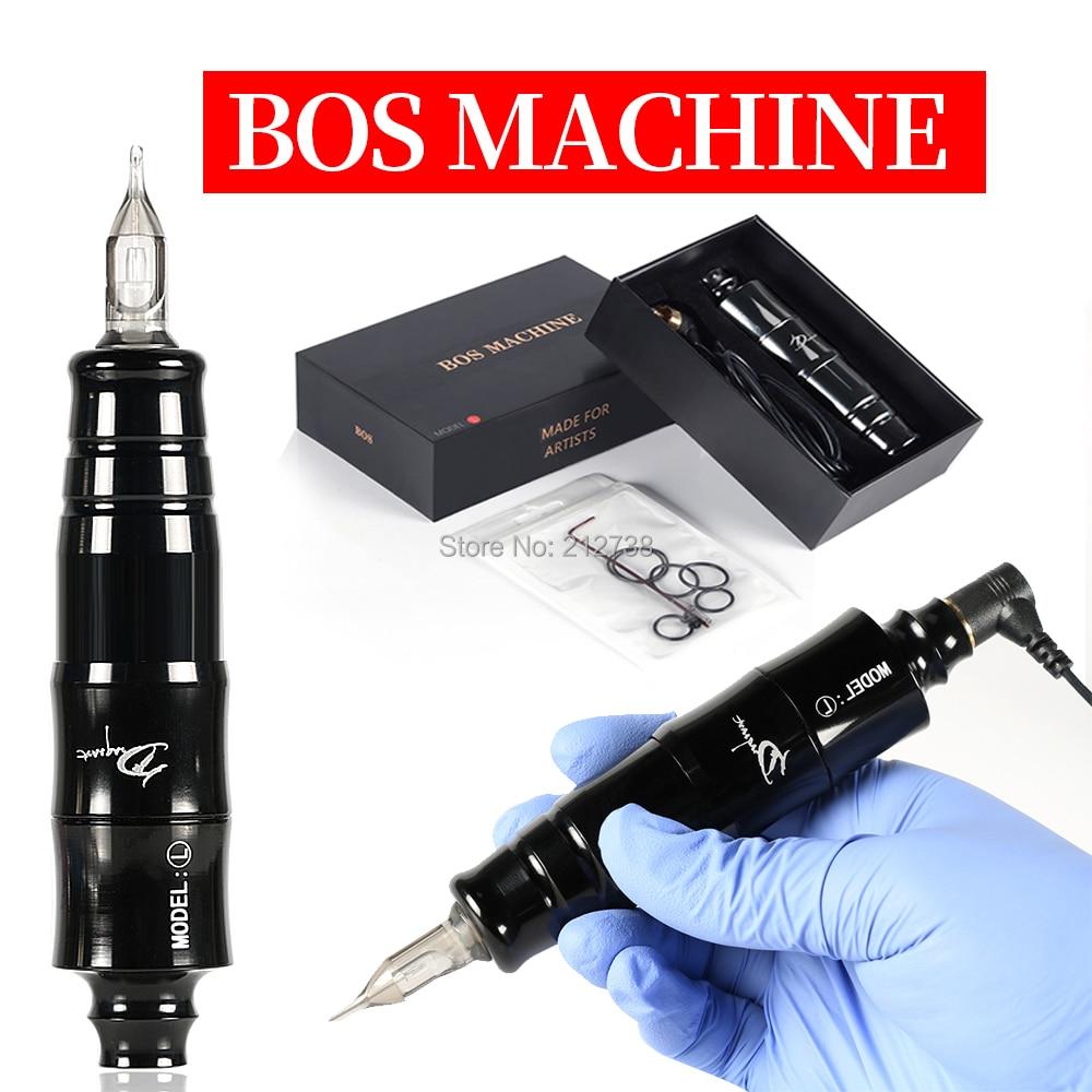 Professional Tattoo Machine Aluminum Alloy Rotary Pen Liner & Shader for Cartridge Needle Supply Body Eyebrow Art Tool Equipment