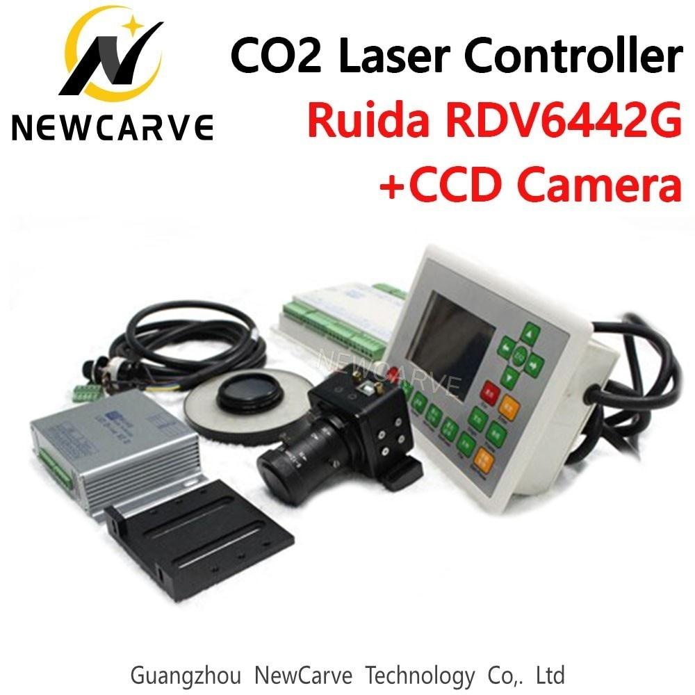 Ruida RDV6442G CCD البصرية CO2 ليزر نظام تحكم ليزر آلة قطع ونقش آلة NEWCARVE