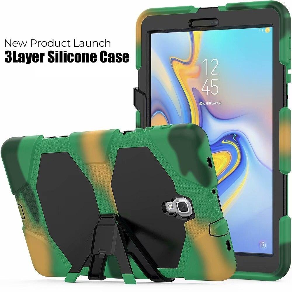 جراب عسكري متين ومقاوم للصدمات لهاتف SAMSUNG Galaxy Tab S4 T830 A2 T590 S3 T820 A 10.1 T580 ، 20 قطعة