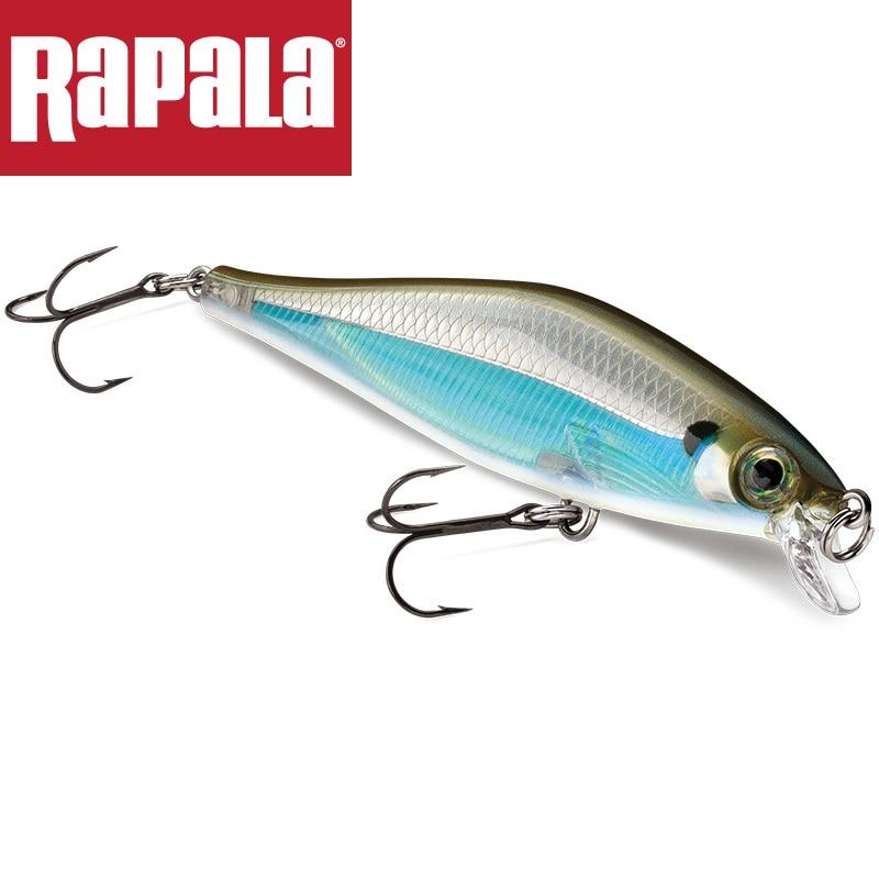Marca Rapala, Shadow Rap, sábalo Sdrs09, señuelo de pesca fundido, 9cm, 12g, cebo duro para buceo, 0,9-1,2 m, calidad profesional Minnow
