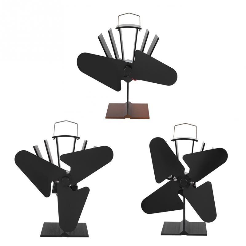 Вентилятор для печи, работающий от тепловой энергии бревно древесины экологически чистый Тихий Домашний Вентилятор для камина эффективное...