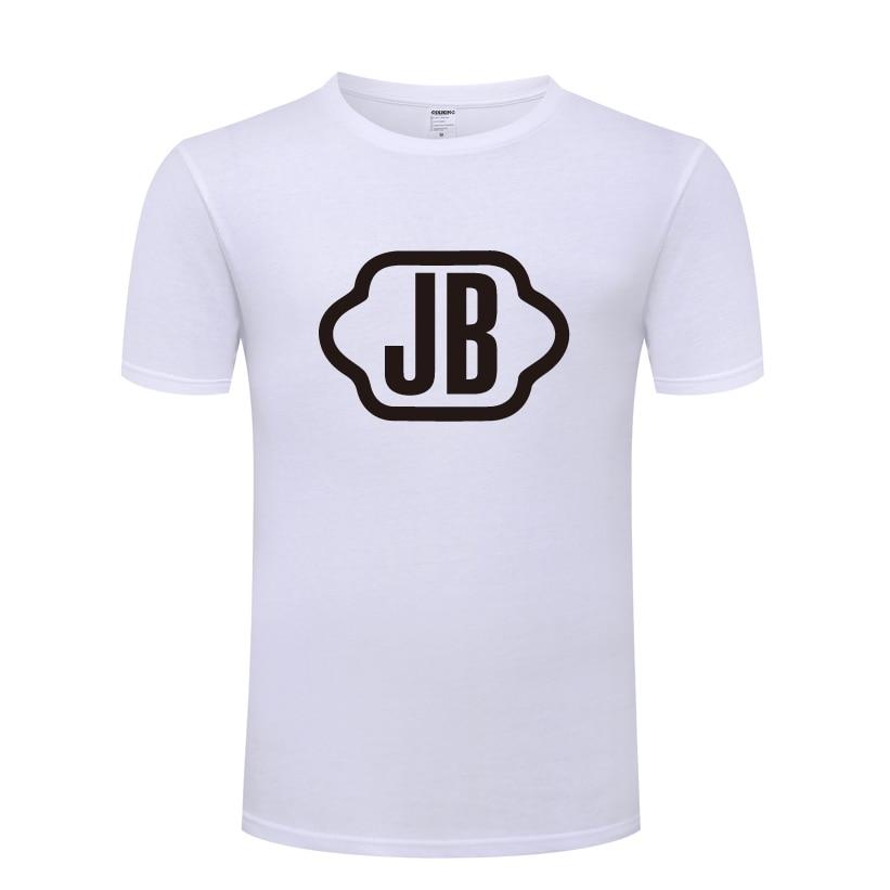 Camiseta JB GOT7 para hombre, camiseta para hombre, 2018 nuevo, de manga corta, cuello redondo, camiseta Casual de algodón