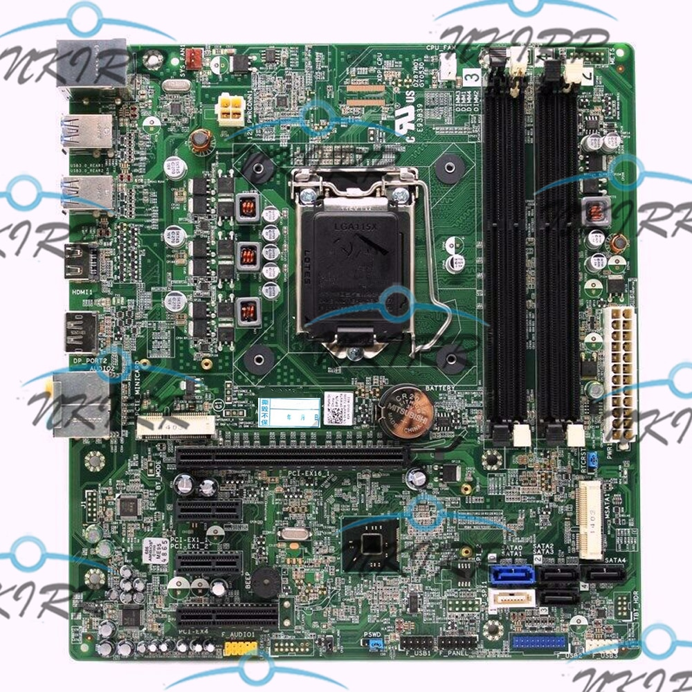 100% рабочая E93839 GY0530 KWVT8 0KWVT8 CN-0KWVT8 LGA1150 Z87 DZ87M0 материнская плата для DELL Studio XPS 8700