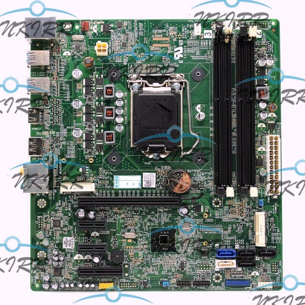 100% trabajo E93839 GY0530 KWVT8 0KWVT8 CN-0KWVT8 LGA1150 Z87 DZ87M0 placa base para Dell Studio XPS 8700