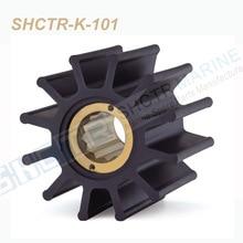 Roue Flexible SHCTR pour JABSCO 31500 – 0001,JMP 9100,Kashiyama SP-500,3835075 D34AMT, pompe DJ 08-17-1201
