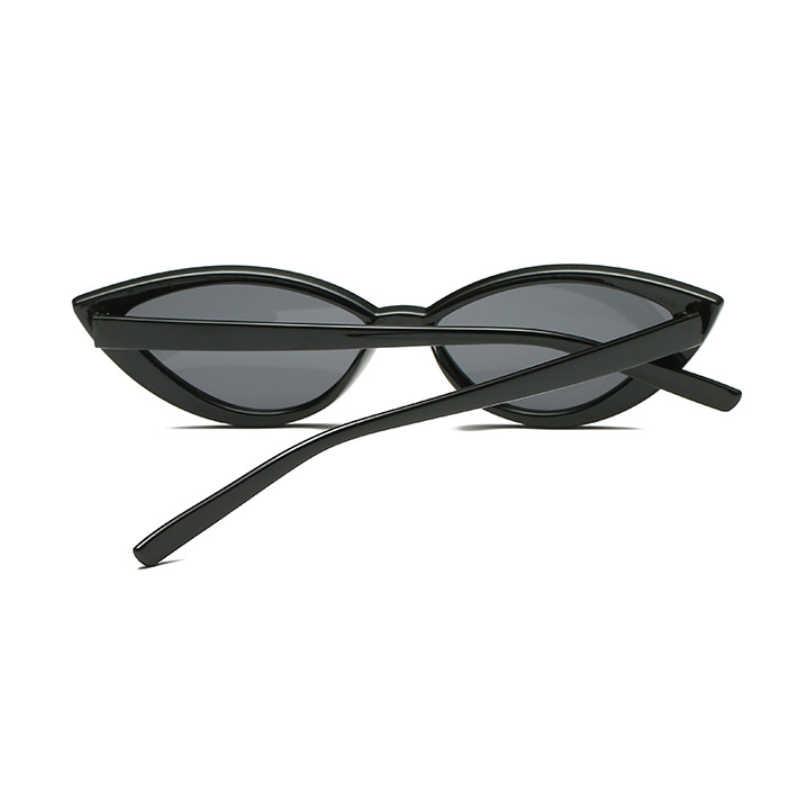 New Vintage Black Cat Eye Sunglasses Women Fashion Brand Designer Mirror Small Frame Cateye Sun Glasses For Female Shades Uv400 Women S Sunglasses Aliexpress