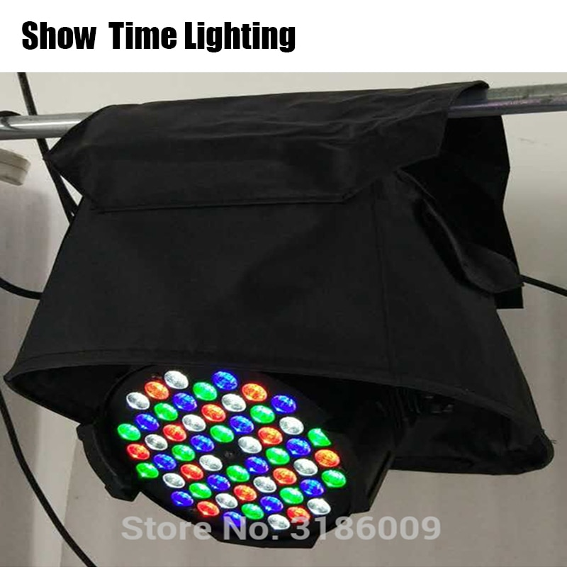 Fast Shipping 10pcs/lot Stage Light Rain Cover Led Par Compact Rain Coat Waterproof Covers Use In The Rain Or Snow Crystal