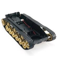 3 V-9 V Diy Schok Geabsorbeerd Smart Robot Tank Chassis Crawler Auto Kit Met 260 Motor Voor Scm