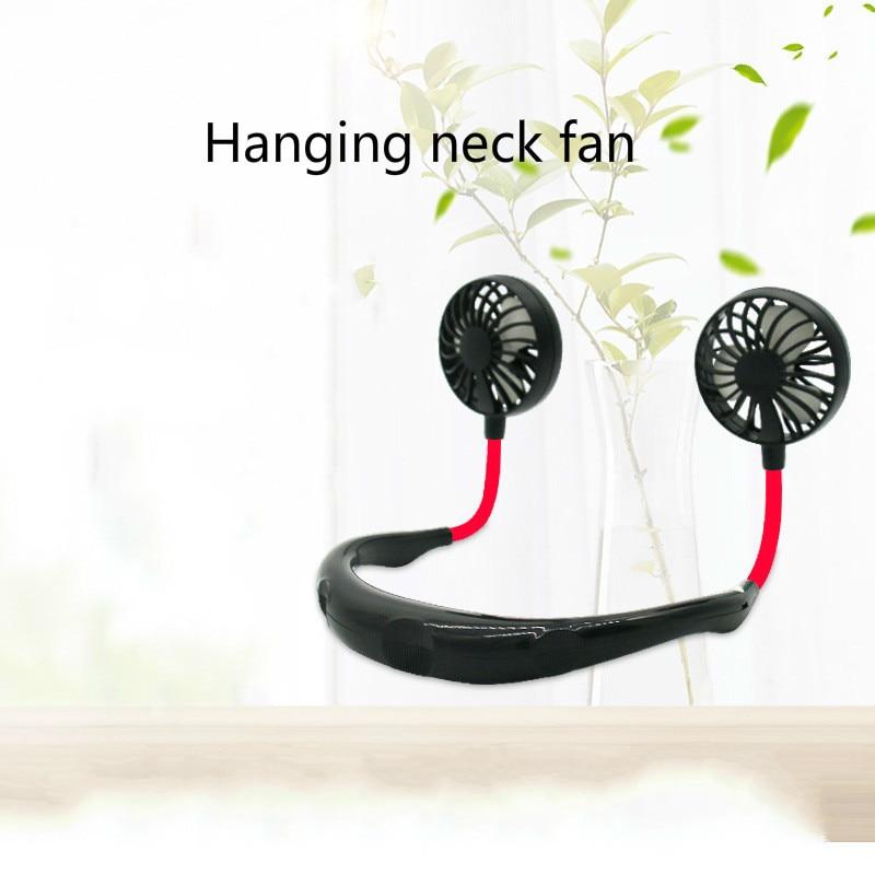 Korea Hang Neck Fans Neck Tourism Motion Small Fans Portable Carry-on Mini- Usb Charge Dawdler