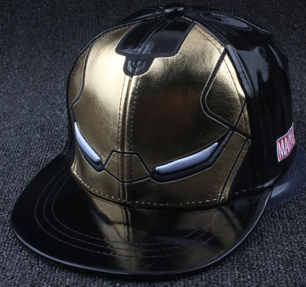 New Product Baseball cap kids iron Man Cortex Chivalrous Hats Cortex Children Hip Hop Hat Male Maam Flat Edge Baseball Hat