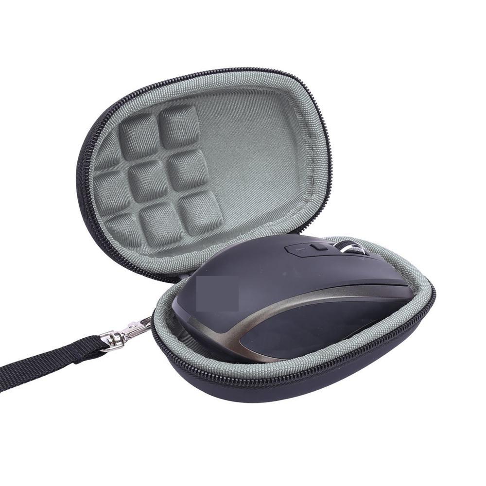 Portátil caso de armazenamento de viagem dura para logitech mx mestre/mestre 2 s sem fio mouse bolsa capa saco para mx em qualquer lugar 2 s