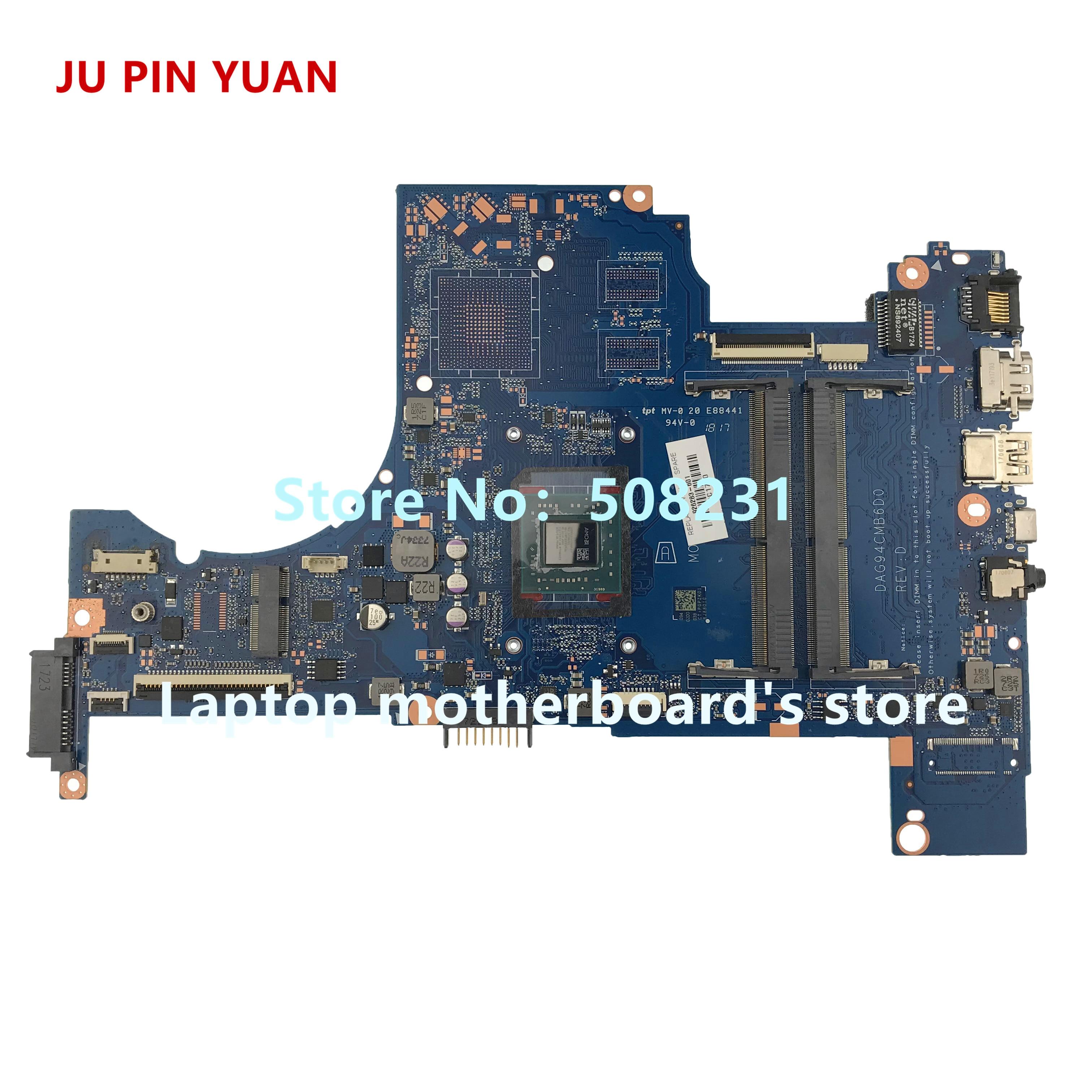 Ju pin Yuan 926283-601 DAG94CMB6D0 placa madre para HP PAVILION 15-CD 15Z-CD placa base de computadora portátil A9-9420