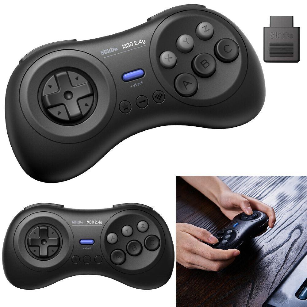 HobbyLane Bluetooth Gamepad 8Bitdo M30 2,4G para Sega Genesis Mega para Nintend interruptor Android los teléfonos Xiaomi d25