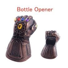 Avengers Endgame Thanos Infinity Gauntlet KEYCHAIN Beer Bottle Opener Tools 3D Glove Key Chain Men Car Women Bag Jewelry
