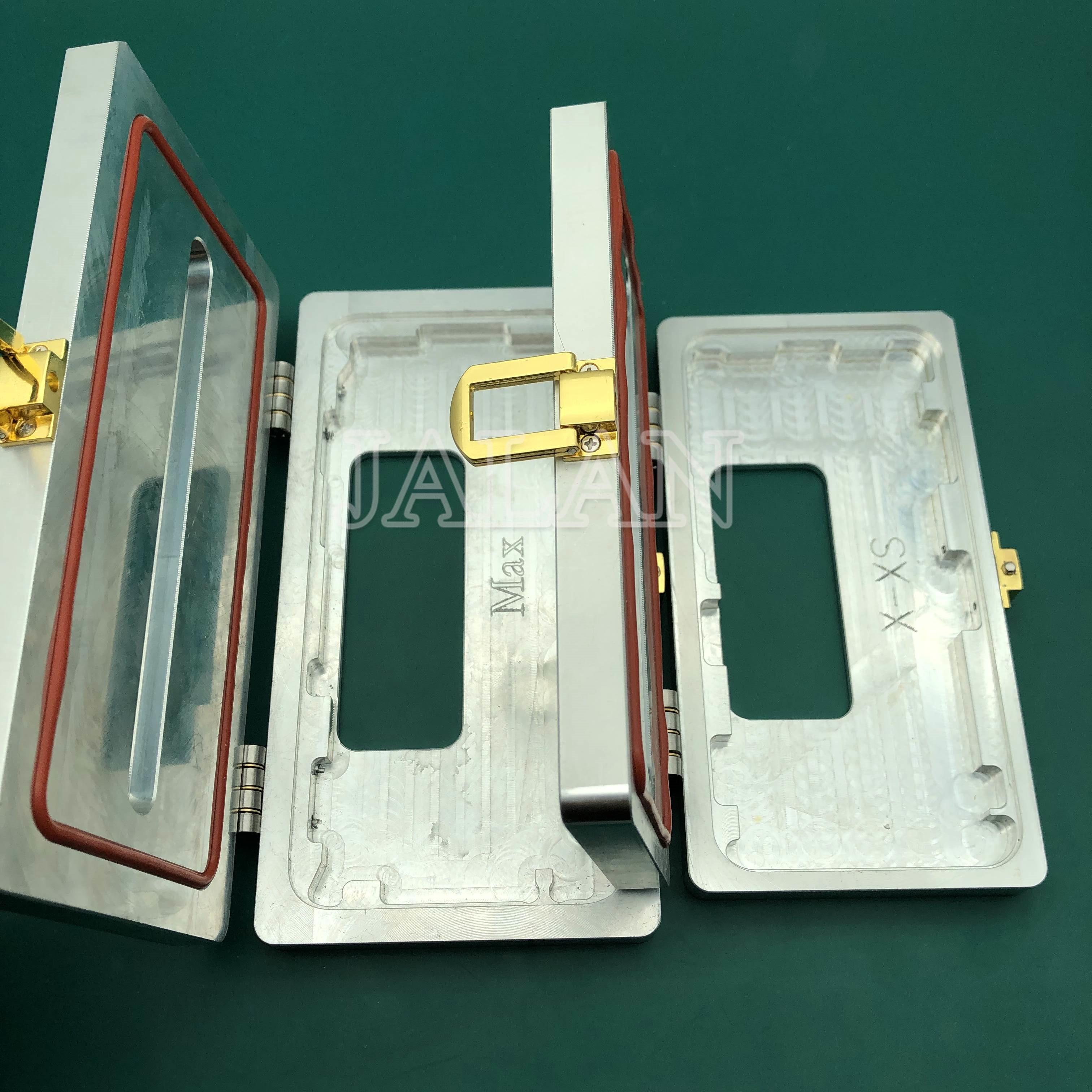 Molde de sujeción JALAN para iPhone XS MAX 5,8/6,5, Marco biselado, molde de laminación, marco de cristal LCD, laminación, pegamento, dispensación, molde de sujeción