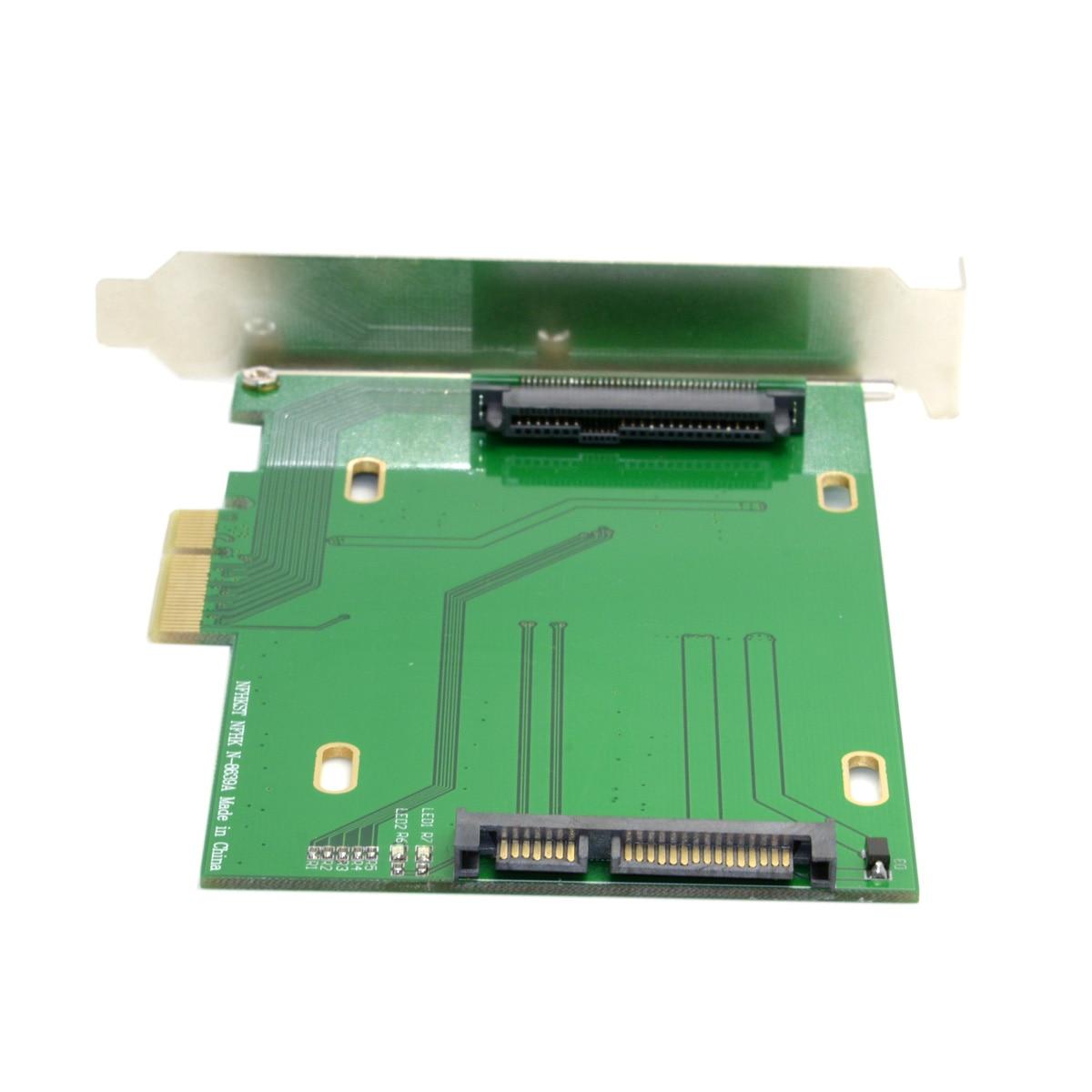 AliExpress - Xiwai PCI-E 3.0 x4 Lane to U.2 U2 Kit SFF-8639 Host Adapter for Intel Motherboard & 750 NVMe PCIe SSD