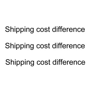 difference of prices free post 002
