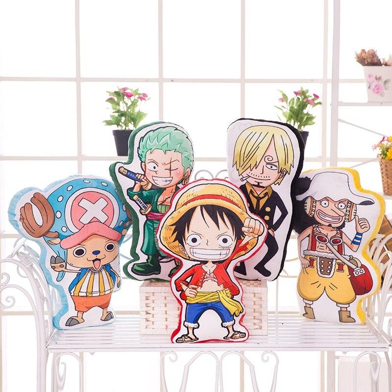 Une pièce cosplay peluche poupée Luffy Chopper Sanji Zoro Usopp Nami Robin loi figure jouet coussin anime oreiller 50cm livraison gratuite