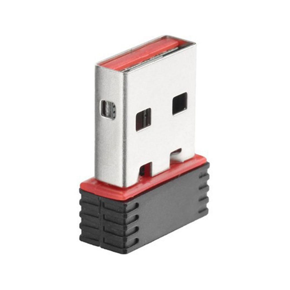 Приемник сетевой карты Wifi адаптер беспроводной USB для PC LAN Dongle 150 Мбит/с