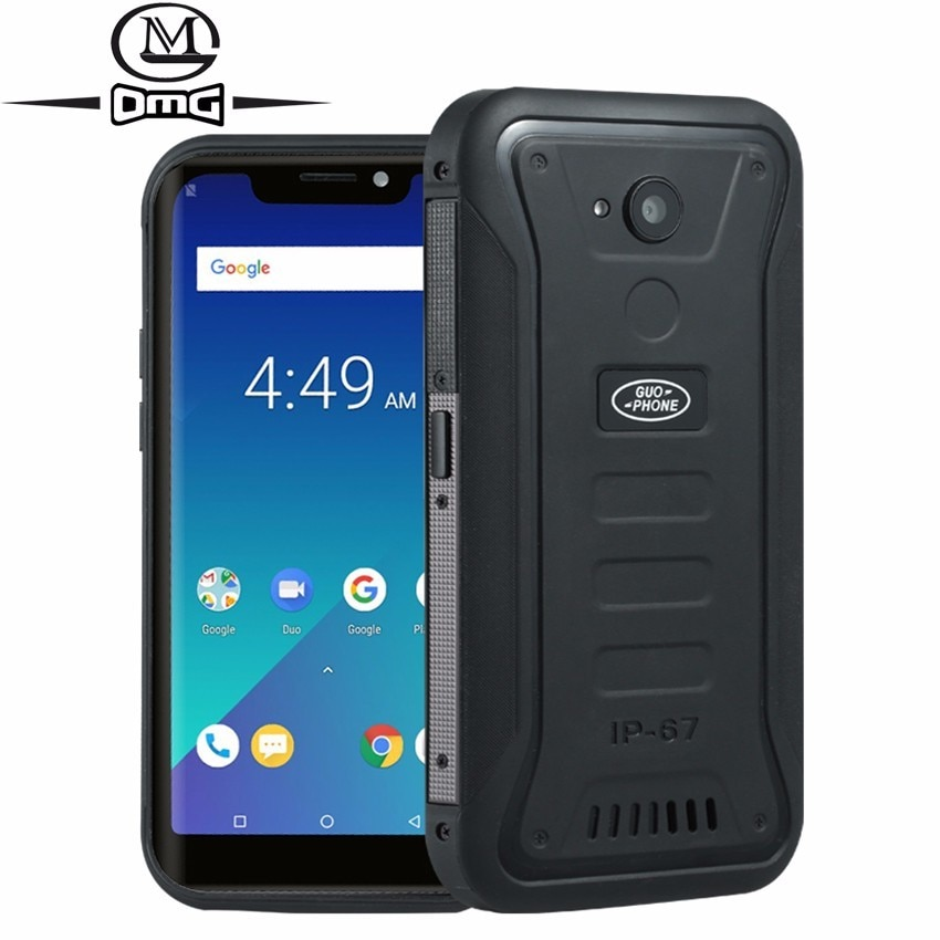 Guophone X3 IP68 waterproof Waterproof mobile phone Android 8.1 MTK6739 Quad Core 5.5