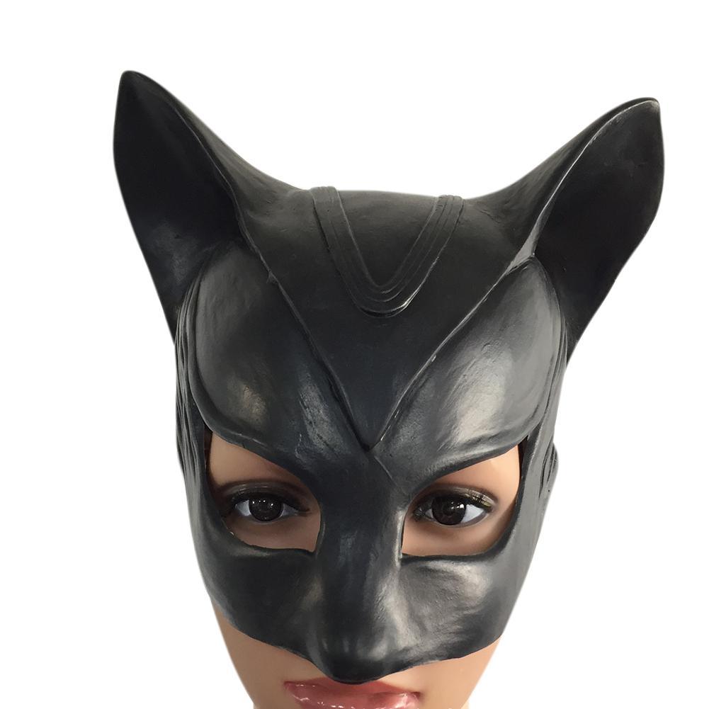 Máscara MISSKY de Halloween para hombre y mujer, máscara de gato y Demonio Negro, máscara de diseño de murciélago, máscara para fiesta, accesorio de disfraz