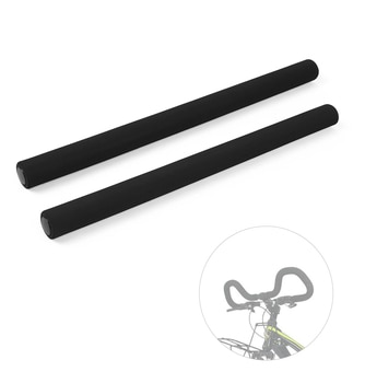 2 PCS Bike Handlebar Tube MTB Touring Bicycle Sponge Grips Cover Handle Bar Sleeves with Plug Cycling Parts