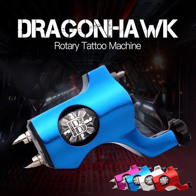 Máquina de tatuaje rotatoria estilo cuatro colores para tatuaje Shader Liner máquina de tatuaje de moda envío gratis