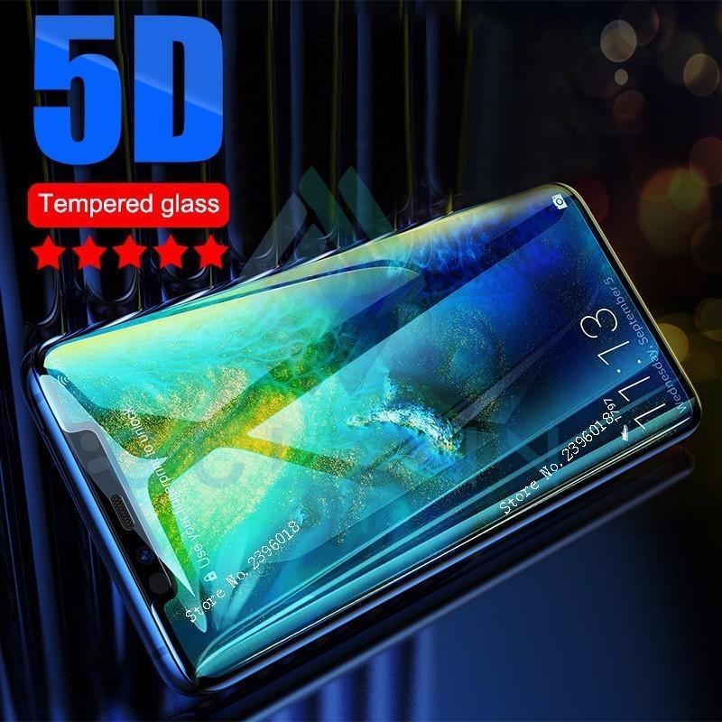 5D en P Smart Plus de vidrio para Huawei Mate 20 10 P 30 20 Lite funda completa templada de Honor 8X 7X 9 10 Lite Glas