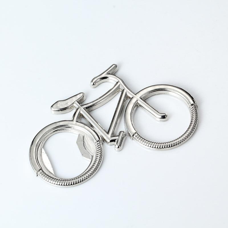 Alloy Bike Beer Soda Bottle Opener Creative Design Cute Bicycle Keychain Key Rings Bottle Opener Gift For Bicycle Lover