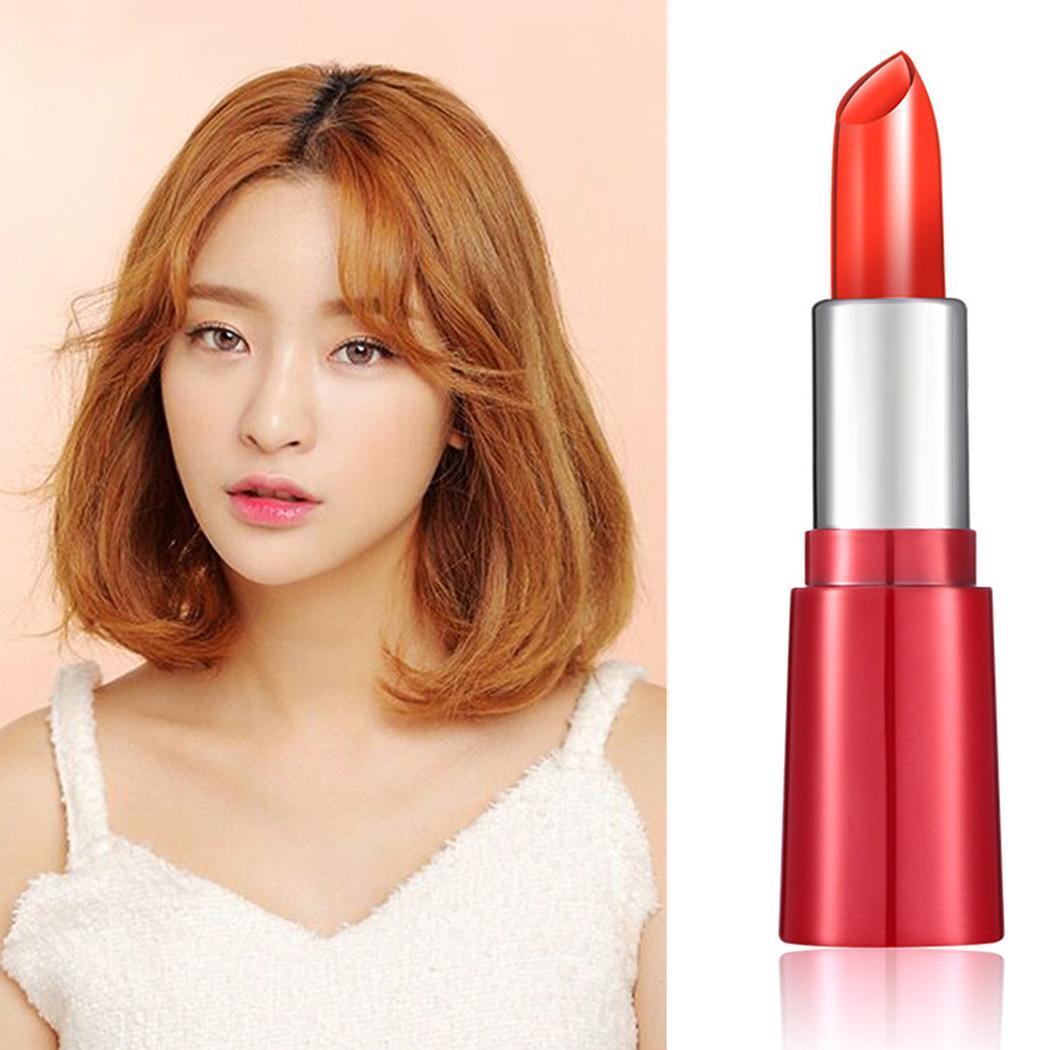 Nuevo maquillaje cosmético mate largo resistente al agua suave 3,8g lápiz labial en crema rosa, naranja, rojo, negro