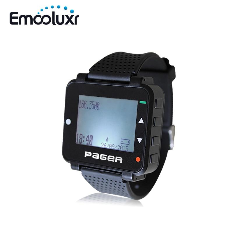 Récepteur de pappage à main/PC   Vente en gros, appareil photo Programmable, récepteur de Message, avec batterie Rechargeable, téléphone portable